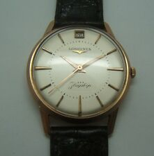 LONGINES FLAGSHIP EN OR 18K AUTOMATIQUE CAL.351 DE 1958 CP3
