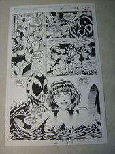 SPIDER-MAN 2099 SUPER SIZE #1 pg #21 original comic art, WICKED COOL PAGE