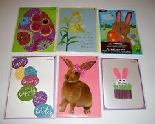 NEW PAPYRUS SEALED LOT OF 6 EASTER GREETING CARDS $39.70 VALUE