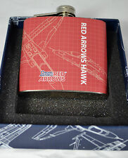 Official RAF Hip Flask Hipflask - RED ARROWS HAWK -  NEW BOXED