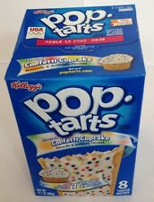 Kelloggs Pop tarts Frosted Confetti Cupcake 8 toater pastries 400g