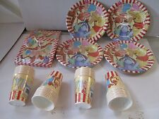 Winnie The Pooh 32 Plates,32 Tassen,40 Servietten Party Packung Geschirr für 32