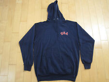 GREATEST!! 80s vtg TEAM USA olympic NAVY BLUE hoodie SWEAT SHIRT medium