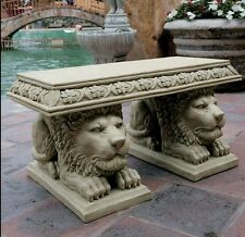GRAND LION BENCH LEG MOLD FOR CONCRETE LATEX AND FIBERGLASS