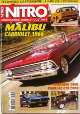 Nitro n°234 - 2008 - Mailbu Cabriolet 1966 - Cadillac CTS  - Belvedere 1958 -