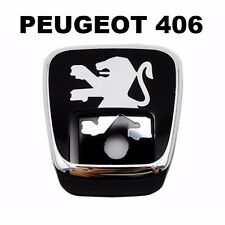 BOOTH LOGO FOR PEUGEOT 406 Rear Gate Lock Logo Emblem Badge Key 8726 C1