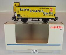 Märklin H0 4890 Güterwagen mit Bremserhaus Kaiser Friedrich Quelle OVP #2854