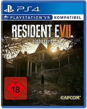 Ps4 jeu resident evil 7 Biohazard (sony playstation 4, 2017)