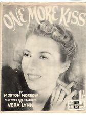 One More Kiss - Music Sheet 1942 / Vera Lynn