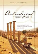 Archaeological Study Bible-KJV: An Illustrated Walk Through Biblical History and