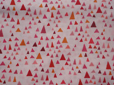 IN THE BLOOM by Valori Wells for Robert Kaufman, Blossom, Triangles on Pink, BTY