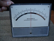 1 dynamics instrumentation company + or - center dc voltage meter. w/tested.