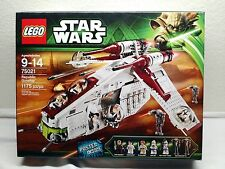 Lego STAR WARS Republic Gunship (75021) NEW IN BOX Sealed Retired Set w/ 7 figs!
