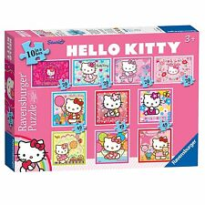 Hello Kitty 10 puzzles In A Box