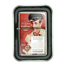 Lucky Strike Oil Lighter With Case Vintage Cigarette Smoking Ad Classic Logo D16