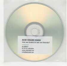 (GI570) Acid House Kings, Are We Lovers Or Are We Friends? - 2010 DJ CD