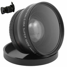 52MM 0.45 x Wide Angle Macro Lens for Nikon D3200 D3100 D5200 D5100 BS