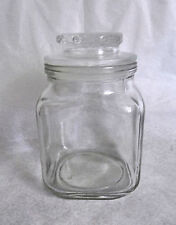 VTG-Clear 16 oz. Anchor Hocking Apothecary/Candy Jar/Canister #2