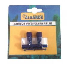 NEW ALGARDE EXTENSION VALVES FOR AQUARIUM 6 mm AIR LINE 5019614425203