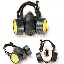 Chemical Gas Filter Mask Anti-Dust Spray Paint Dual Cartridge Respirator Safety