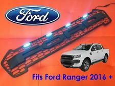 FORD RANGER PICK-UP 2016 + t6 Facelift Griglia Anteriore Raptor Nero con LED Blu