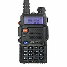 BaoFeng UV-5R Dual Band Two Way Radio (Black) by BaoFeng (Color: Black) NEW