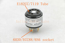 1pc gold plated E182CC 7119 TO 6H30 tube converter adapter For little Dot MK4 SE