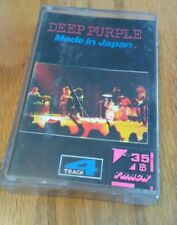 DEEP PURPLE MADE IN JAPAN 4 TRACK cassette tape