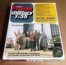 PREISER 64002 - CIVILIAN WAVING AT THE ROADSIDE 1/35 - NUOVO