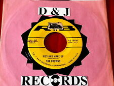 CROWNS~ KISS AND MAKE UP~ A KILLER TWO SIDER~ I'LL FORGET ABOUT YOU~~ DOO WOP 45