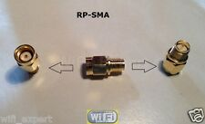 RP-SMA Male To RP SMA Female small straight extension RF Connector Adapter USA
