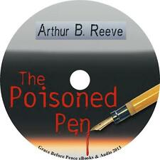 The Poisoned Pen, Arthur B. Reeve Mystery unabridged Audiobook on 1 MP3 CD