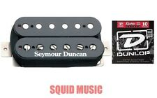 Seymour Duncan SH-4 JB Humbucker Bridge Pickup In Black ( 1 SET OF STRINGS )