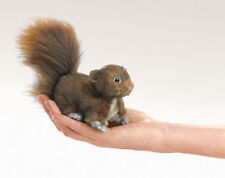 BABY RED SQUIRREL Finger Puppet  #2735 Free Shipping in USA ~ Folkmanis Puppets
