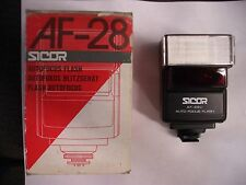 SICOR AF-28C Auto Focus Dedicated TTL Flash for Nikon AF SLR Cameras