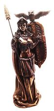 GREEK ROMAN ATHENA MINERVA STATUE FIGURINE GODDESS OF WISDOM STRATEGY BATTLE