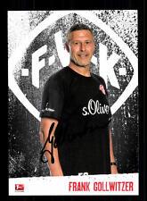 Frank Gollwitzer Autogrammkarte Würzburger Kickers 2016-17 Original +A 143249