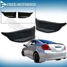 FOR 05-10 SCION TC REAR BUMPER LIP SPOILER BODYKIT POLY URETHANE PU 2PCS