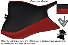 BLACK & BURGUNDY CUSTOM FITS HONDA CB 1000 R 08-13 FRONT RIDER SEAT COVER