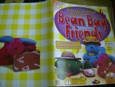 Sew Your Own Bean Bag Friends Craft Book- Frog, Dog, Bear, Fish