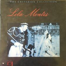 Lola Montes - Criterion Collection - Laserdisc