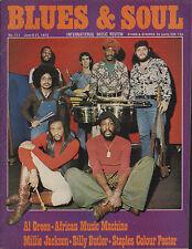 Mandrill Blues & Soul Issue 111 1973  The Staple Singers  Millie Jackson  Reggae