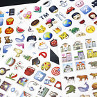 48-Emotion Emoji Smile Face Sticker Android IPhone Laptop Decor Stickers #mei