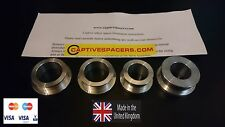 Kawasaki ZX10 ZX10R 2006 - 2010 Captive race wheel spacers. Full set.
