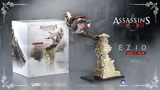 Assassins Creed - Ezio Auditore Leap of Faith Statue *NEW!* + Warranty!