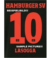 Origin.HSV Hamburger SV Wunsch-Flock für adidas Away 3rd Black Trikot 2014-2015
