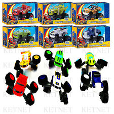 Set of 6 Pcs Blaze and the Monster Machines Vehicle Toy Racer Cars Truck