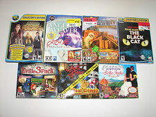 lot of 15 HIDDEN OBJECT SEEK & FIND (PC GAMES)  *NEW*  LOW PRICE +FREE SHIPPING!