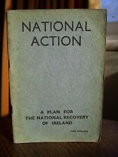 National Action: A Plan for the National Recovery of Ireland (pb, 1st, 1942)