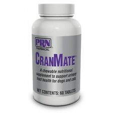 CranMate Cranberry Extract Urinary Tract Supplement for Pets - 60 Chewable Table